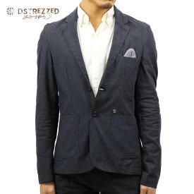 ディストレス ジャケット メンズ 正規販売店 DSTREZZED アウター ジャケット TAILORED JACKET DK. NAVY 111098 49 D00S15
