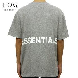 フィアオブゴッド FEAR OF GOD 正規品 メンズ クルーネック バックプリント 半袖Tシャツ FOG - FEAR OF GOD ESSENTIALS BOXY GRAPHIC T-SHIRT GRAY