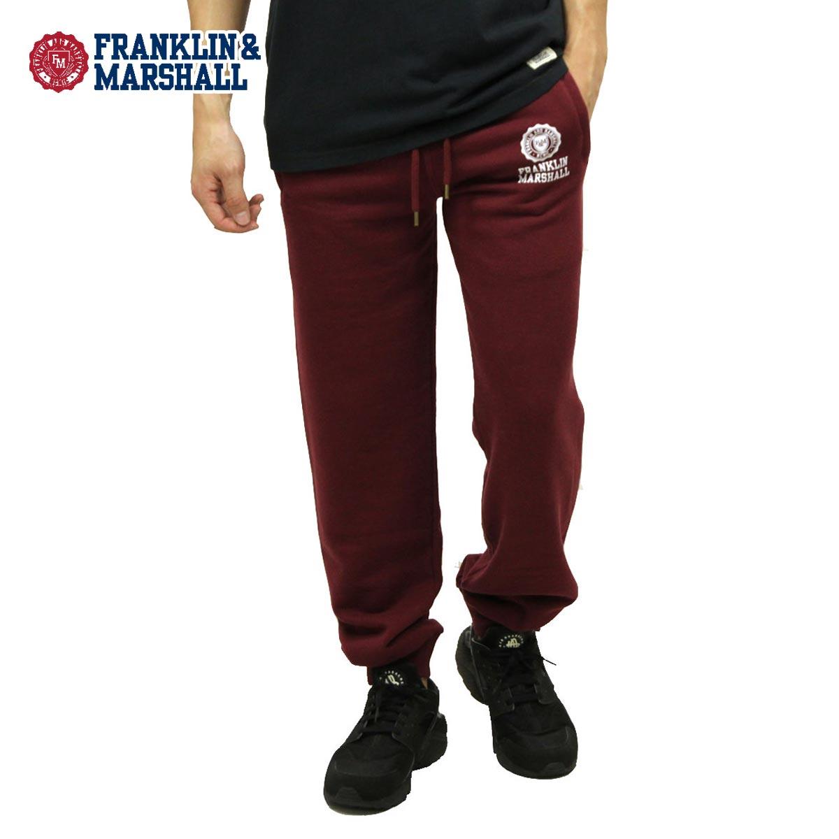 【販売期間 1/18 10:00〜1/22 9:59】 フランクリン マーシャル FRANKLIN&MARSHALL 正規販売店 メンズ スウェットパンツ SWEAT PANTS BORDEAUX PAMCA310 2002