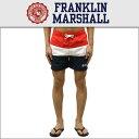 フランクリン&マーシャル FRANKLIN&MARSHALL 正規販売店 メンズ スイムパンツ SWIM PANTS CAMPUS RED BWUA929 70...