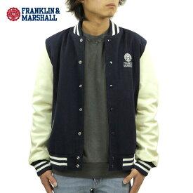 フランクリン マーシャル ジャケット メンズ 正規販売店 FRANKLIN&MARSHALL アウター スタジアムジャケット STADIUM JACKET 167 JKMF559AN 0167