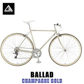 フジ FUJI 正規販売店 自転車 BALLAD (CROSS BIKE) CHAMPAGNE GOLD
