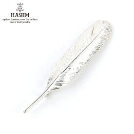 ハリム HARIM ペンダントトップ(チェーン別売り) HARIM FEATHER LEFT M HRT005 WH/OX SILVER 925