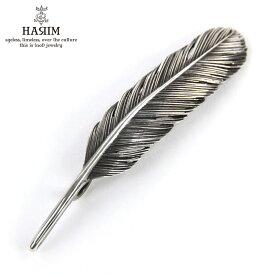 ハリム HARIM ペンダントトップ(チェーン別売り) HARIM FEATHER RIGHT M HRT006 WH/OX SILVER 925 OXIDIZED BLACK