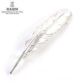 ハリム HARIM ペンダントトップ(チェーン別売り) HARIM FEATHER RIGHT M HRT006 WH/OX SILVER 925
