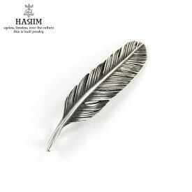 ハリム HARIM ネックレス HARIM FEATHER RIGHT S OX HRT009 OX SILVER 925 OXIDIZED BLACK