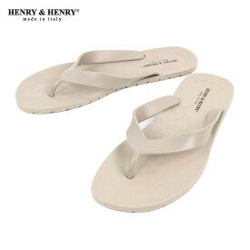 ヘンリーアンドヘンリー HENRY&HENRY 正規販売店 サンダル フリッパー FRIPPER SANDAL BEIGE 45