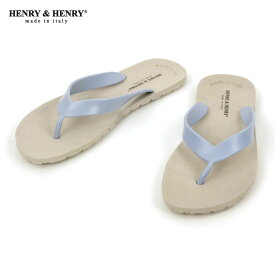 ヘンリーアンドヘンリー HENRY&HENRY 正規販売店 サンダル フリッパー FRIPPER SANDAL BEIGE / SKY 45/46