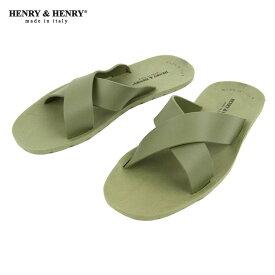 ヘンリーアンドヘンリー HENRY&HENRY 正規販売店 サンダル CROSS SANDAL VERDE 51