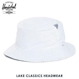 ハーシェル ハット 正規販売店 Herschel Supply ハーシェルサプライ 帽子 Lake S/M Classics Headwear 1025-0052-SM White/Navy Gingham