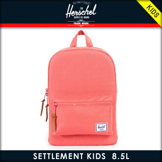 赫谢供给Herschel Supply正规的销售租房人服务包Settlement Kids Kids 10074-00583-OS Flamingo Rubber
