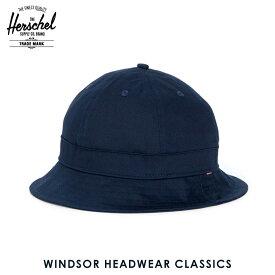 ハーシェル ハット 正規販売店 Herschel Supply ハーシャルサプライ 帽子 Windsor HEADWEAR CLASSICS 1029-0004-OS Navy