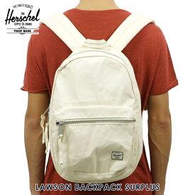 【販売期間 2/29 10:00〜3/2 09:59】 ハーシェル バッグ 正規販売店 Herschel Supply ハーシャルサプライ バッグ LAWSON BACKPACK SURPLUS 10179-01455-OS NATURAL