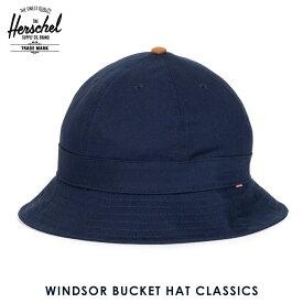 30%OFFセール 【販売期間 3/4 20:00〜3/11 01:59】 ハーシェル ハット 正規販売店 Herschel Supply ハーシャルサプライ 帽子 WINDSOR BUCKET HAT CLASSICS 1029-0263 NAVY/CRRAMEL SUEDE