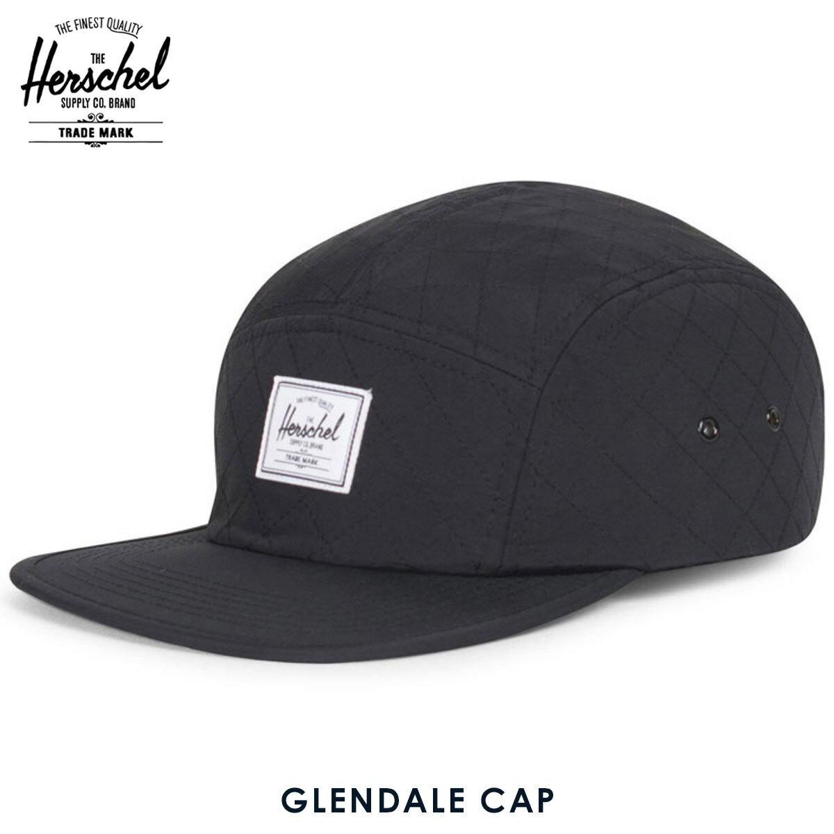 ハーシェル サプライ Herschel Supply 正規販売店 帽子 キャップ GLENDALE CAP QUILTED 1007-0298-OS BLACK QUILTED
