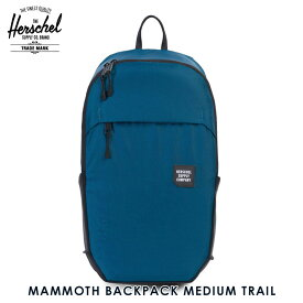 ハーシェル バッグ 正規販売店 Herschel Supply ハーシャルサプライ バッグ MAMMOTH BACKPACK MEDIUM TRAIL 10269-01389-OS LEGION BLUE/BLACK