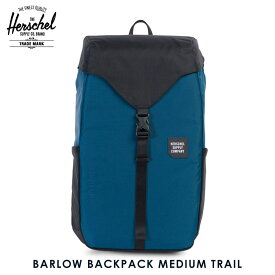 ハーシェル バッグ 正規販売店 Herschel Supply ハーシャルサプライ バッグ BARLOW BACKPACK MEDIUM TRAIL 10270-01389-OS LEGION BLUE/BLACK D00S15