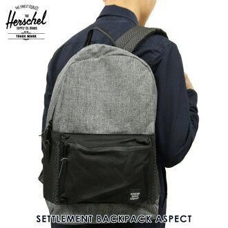 Rakuten Ichiba shop MIXON  Hershel Herschel Supply regular store backpack  SETTLEMENT BACKPACK ASPECT 10005-01554-OS RAVEN CROSSHATCH BLACK 23L  9d7c0c647803e