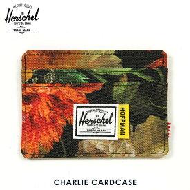 【ポイント10倍 12/4 20:00〜12/11 01:59まで】 ハーシェル カードケース 正規販売店 Herschel Supply ハーシェルサプライ CHARLIE CARDCASE 10360-02222-OS FALL FLORAL