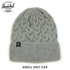 ハーシェル サプライ 正規販売店 Herschel Supply ニット帽 帽子 KNOLL KNIT CAP 1087-0478-OS HEATHER LIGHT GREY