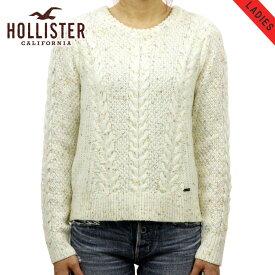 ホリスター セーター レディース 正規品 HOLLISTER ホリスター Cable Crew Sweater 350-507-0569-10