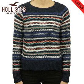 ホリスター セーター レディース 正規品 HOLLISTER Patterned Crew Sweater 350-507-0569-228 D20S30