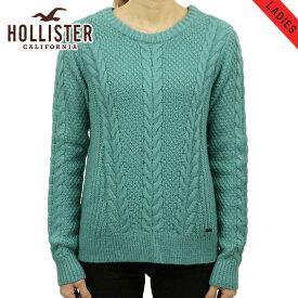 ホリスター セーター レディース 正規品 HOLLISTER Cable Crew Sweater 350-507-0569-230 D20S30