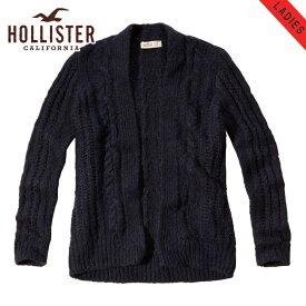 ホリスター セーター レディース 正規品 HOLLISTER カーディガン Cable Knit Cardigan 350-508-0514-200 D00S20