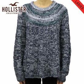 ホリスター セーター レディース 正規品 HOLLISTER Cable Swing Sweater 350-507-0573-228 D20