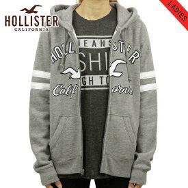 ホリスター HOLLISTER 正規品 レディース ロゴ ジップアップパーカー Logo Graphic Full-Zip Hoodie 352-524-0372-120 買いまわり