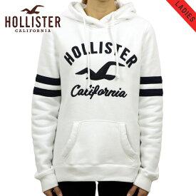 ホリスター パーカー レディース 正規品 HOLLISTER プルオーバーパーカー ロゴ Logo Graphic Hoodie 352-524-0369-100 買いまわり