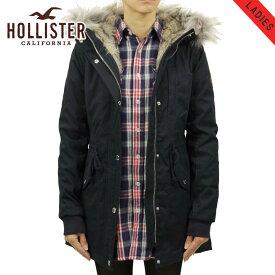 ホリスター アウター レディース 正規品 HOLLISTER ジャケット フードロングコート Stretch Faux-Fur-Lined Parka 344-445-0674-200