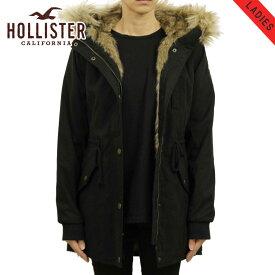 ホリスター アウター レディース 正規品 HOLLISTER ジャケット フードロングコート Stretch Faux-Fur-Lined Parka 344-445-0675-900 買いまわり
