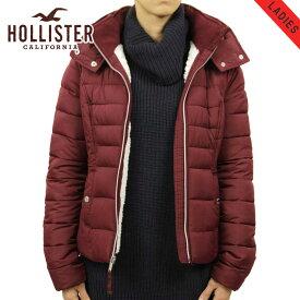 ホリスター アウター レディース 正規品 HOLLISTER ジャケット パファージャケット Sherpa-Lined Puffer Jacket 344-445-0636-520