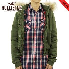 ホリスター アウター レディース 正規品 HOLLISTER ジャケット ボンバージャケット Stretch Flannel-Lined Twill Bomber Jacket 344-445-0661-330