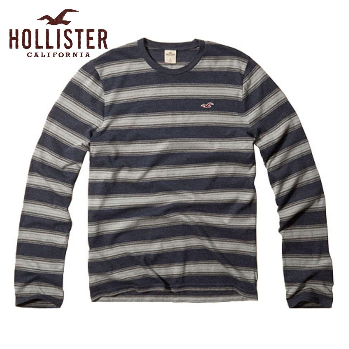 【25%OFFセール 6/26 20:00〜6/30 23:59】 ホリスター HOLLISTER 正規品 メンズ 長袖Tシャツ Arch Bay T-Shirt 324-369-0516-026