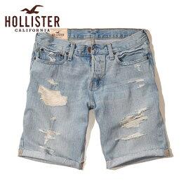 ホリスター HOLLISTER 正規品 メンズ ショートパンツ Classic Fit Denim Shorts Inseam 7 Inches 328-280-0017-027 D15S25