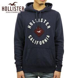 ホリスター パーカー メンズ 正規品 HOLLISTER Logo Graphic Fleece Hoodie 322-226-0018-200 D00S20