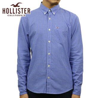 霍利斯特霍利斯特 AE 男式长袖衬衫格子府绸衬衫史诗 Flex 325-253-0255年-228