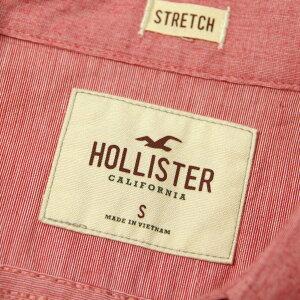 ホリスターHOLLISTER正規品メンズ長袖シャツIconicPoplinShirtEpicFlex325-259-1586-500