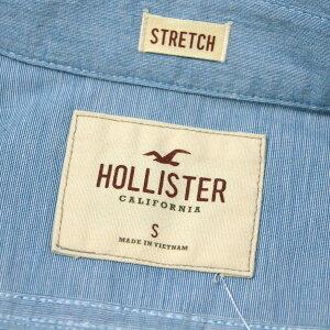 ホリスターHOLLISTER正規品メンズ長袖シャツSolidPoplinShirtEpicFlex325-259-1586-232