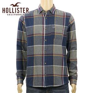 ホリスターHOLLISTER正規品メンズ長袖シャツIconicFlannelShirt323-253-0258-228