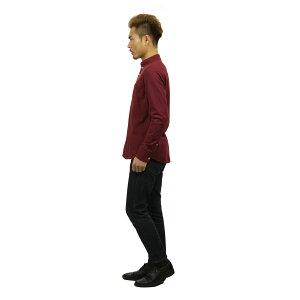 ホリスターHOLLISTER正規品メンズ長袖シャツSolidOxfordShirt325-259-1574-520
