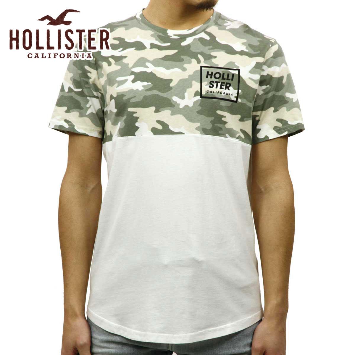 ホリスター HOLLISTER 正規品 メンズ 半袖クルーネックTシャツ Camo Graphic Tee 323-243-2244-186