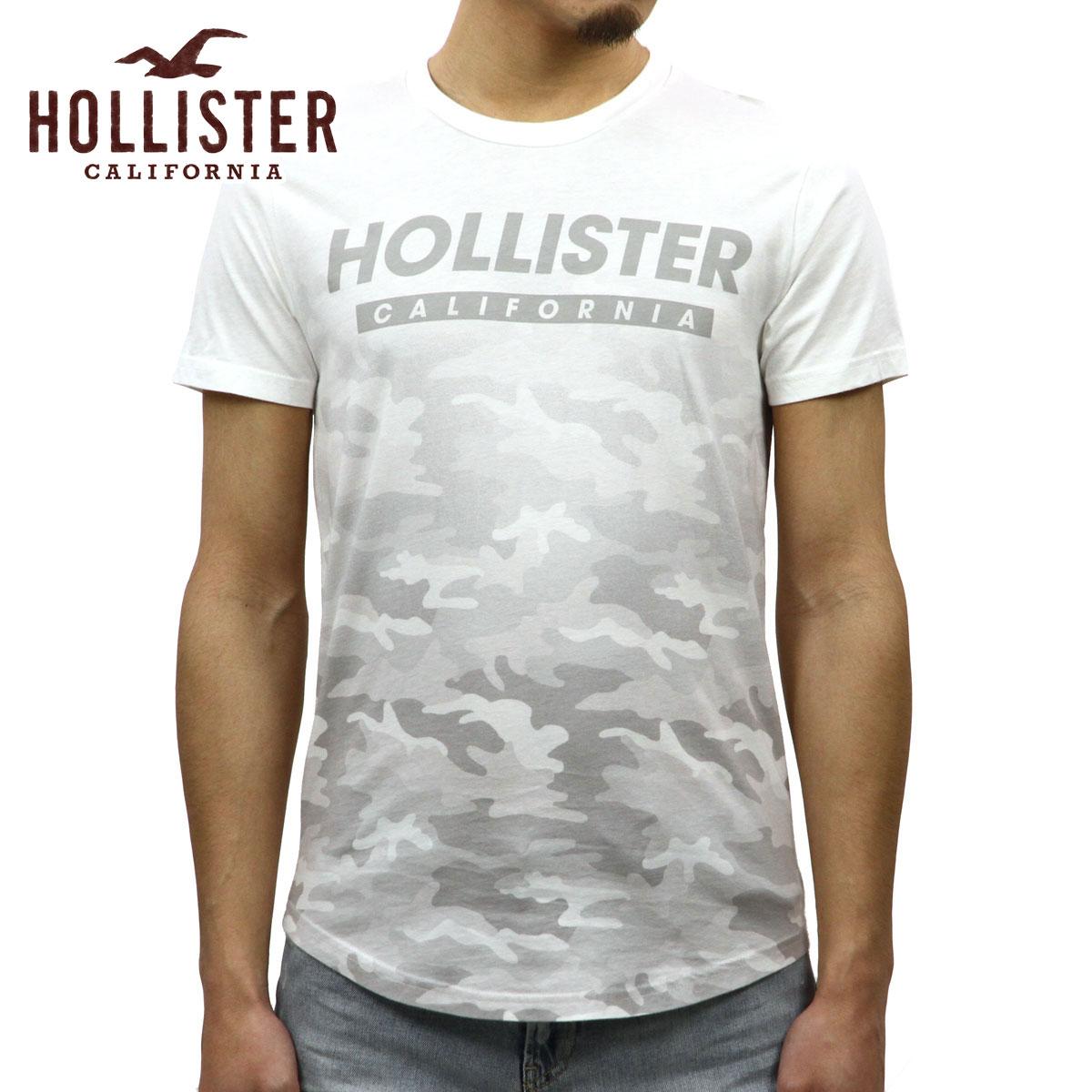 ホリスター HOLLISTER 正規品 メンズ 半袖クルーネックTシャツ Camo Graphic Tee 323-243-2244-185