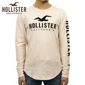 ホリスター Tシャツ メンズ 正規品 HOLLISTER 長袖Tシャツ Logo Graphic Tee 323-248-0111-600