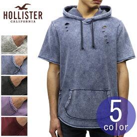 ホリスター HOLLISTER 正規品 メンズ 半袖 フーディー Short-Sleeve Hoodie