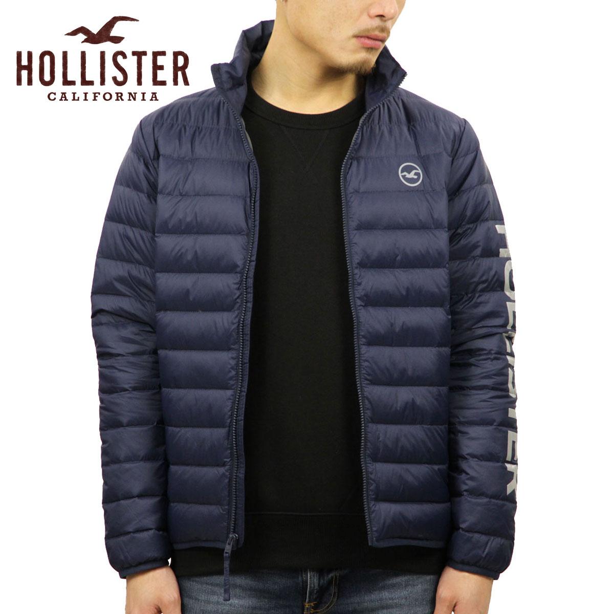 ホリスター HOLLISTER 正規品 メンズ ダウンジャケット Lightweight Down Puffer Jacket 332-328-0810-206