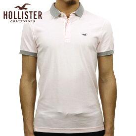 ホリスター ポロシャツ 正規品 HOLLISTER 半袖ポロシャツ Tipped Shrunken Collar Polo 324-224-0664-600