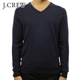 ジェイクルー セーター メンズ 正規品 J.CREW COTTON-CASHMERE V-NECK SWEATER ネイビー D20S30